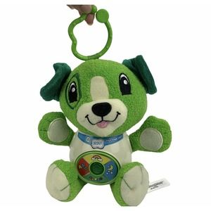 """LeapFrog Sing and Snuggle Scout 8"""" Dog Plush"""